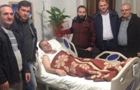 Yönetim Kurulu Üyemiz Mehmet ERİŞMİŞ ziyaret edildi.