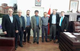 Vize Belediye Başkanı Sn. Sedat BALKI' yı  Ziyaret Ettik
