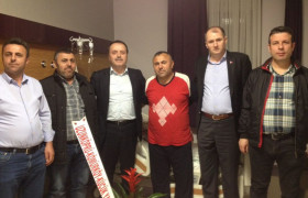 Trakya Dernekleri Olarak Samsun Havzalılar Dernek Başkanına Geçmiş Olzun Ziyareti