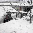 Kömürköy 'den Kar Manzaraları