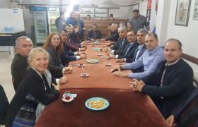 Belediye Başkanımız ve CHP İl Başkanımızdan Derneğimize Ziyaret