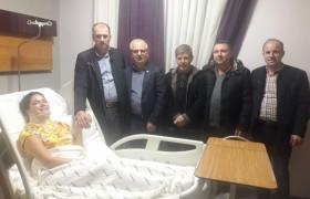 Tekirdağ CHP Milletvekili Candan YÜCEER'e Geçmiş Olsun Ziyareti